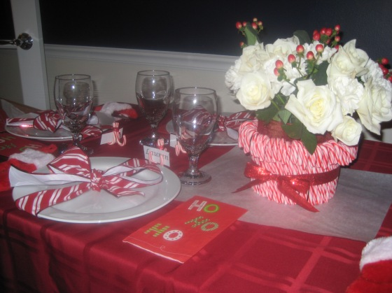 Christmas Table Decor - LiveDineParty